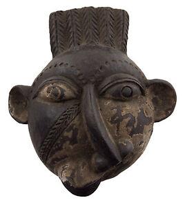 Maschera-Diminutivo-Africano-Passaporto-IN-Miniatura-Copia-Divinatorio-6471-Q1