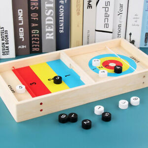 Wooden-Ice-Arc-Ball-Home-Party-Puzzle-Board-Interactive-Parent-child-Toys-WL