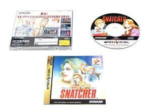SNATCHER-Sega-Saturn-Import-Japan-Konami-Game