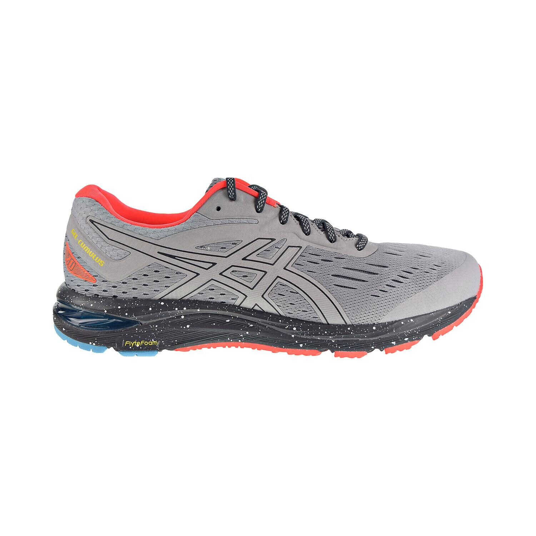 ASICS Asics 1011A008 020: Mens Gel Cumulus 20 Mid GreyBlack Running Sneakers