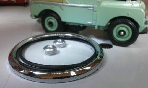 Land Rover Série 1 80 Smiths Speedo Jauge Remise en État Kit Verre Cadre 231911