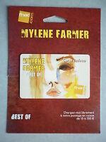Mylene Farmer Carte Cadeau Fnac Best Of