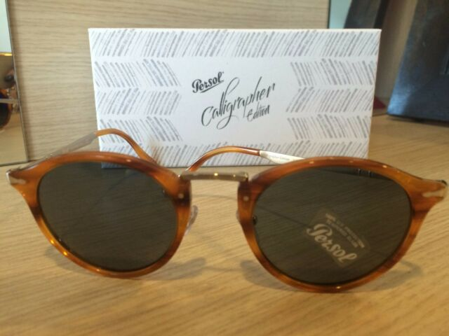 OCCHIALI DA SOLE PERSOL 3166S CALLIGRAPHER EDITION 960/56 STRIPED BROWN 51 SOLE