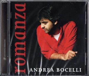 Andrea Bocelli - Romanza -  NUOVO SIGILLATO