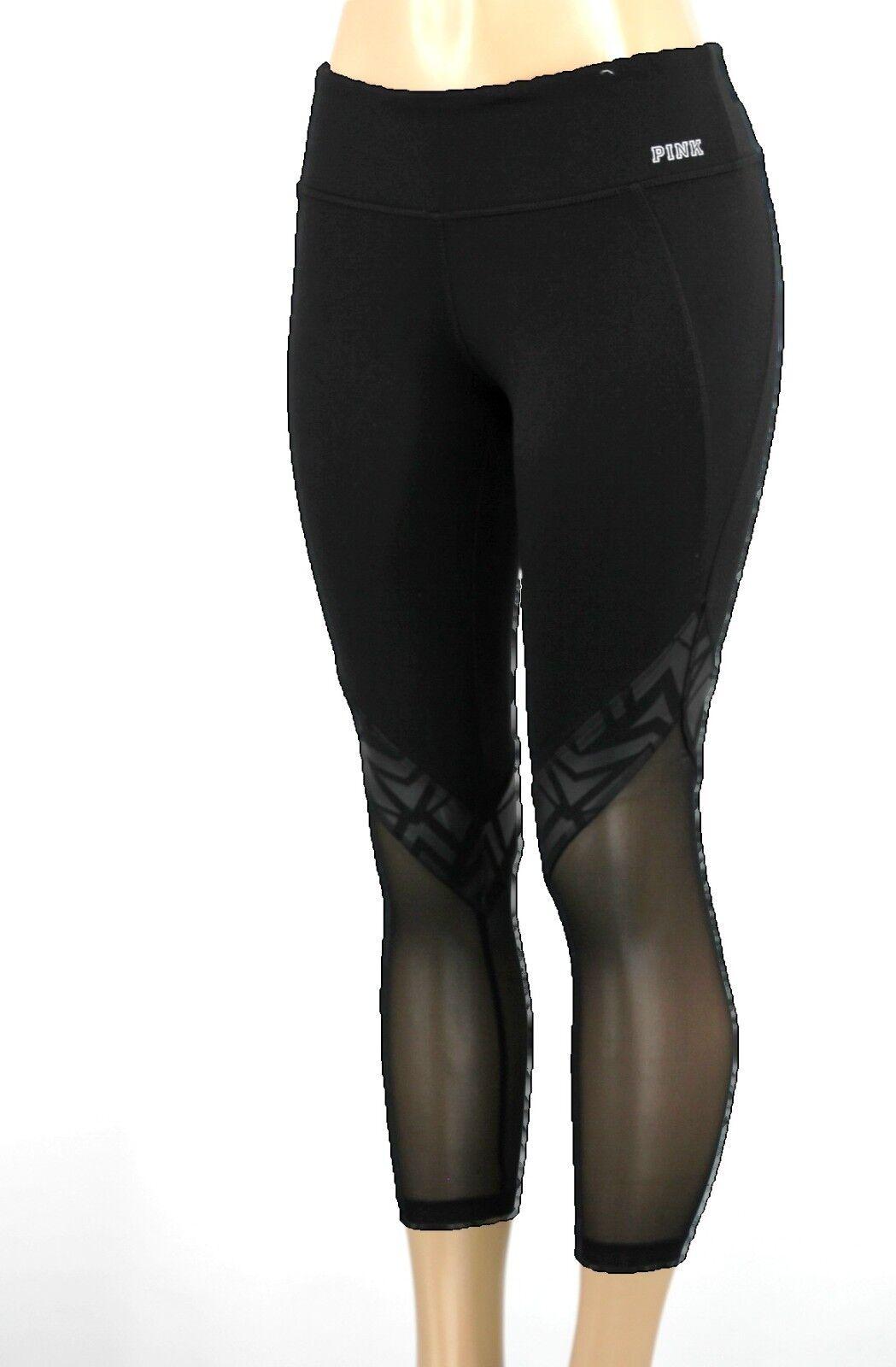 NWT Victoria's Secret  PINK ANKLE LEGGING PANTS  S  XX216