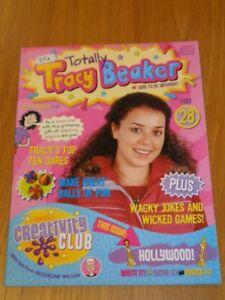 TOTALLY TRACY BEAKER #28 JACQUELINE WILSON UK MAGAZINE< =