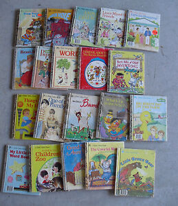 Lot Of 20 Vintage 1970s 90s Little Golden Books Childrens Books 2