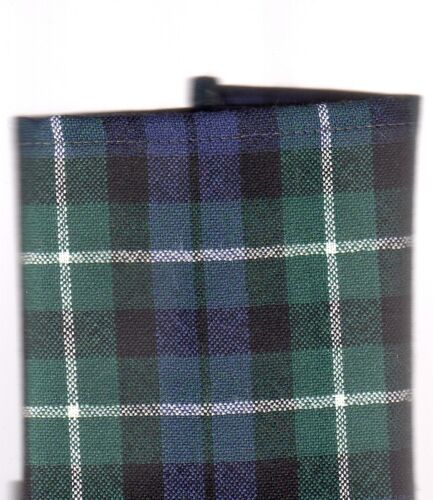 Tartan Tie Clan Graham or Pocket Square Scottish Wool Plaid