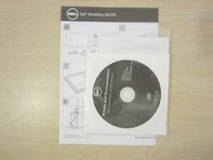 DELL-U2717D-27-039-039-MONITOR-GUIDE-STARTING-CD-DRIVERS-DISPLAY-SOFTWARE-FREE-S-amp-H