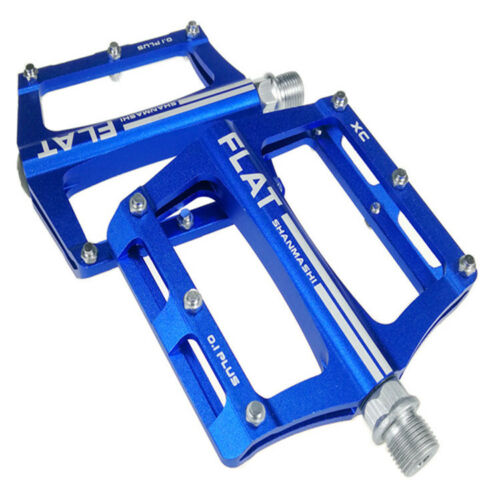 """0.1plus Lightweight Bike Pedals 9//16/"""" BMX MTB Road Bicycle Pedals w// DU Bearings"""