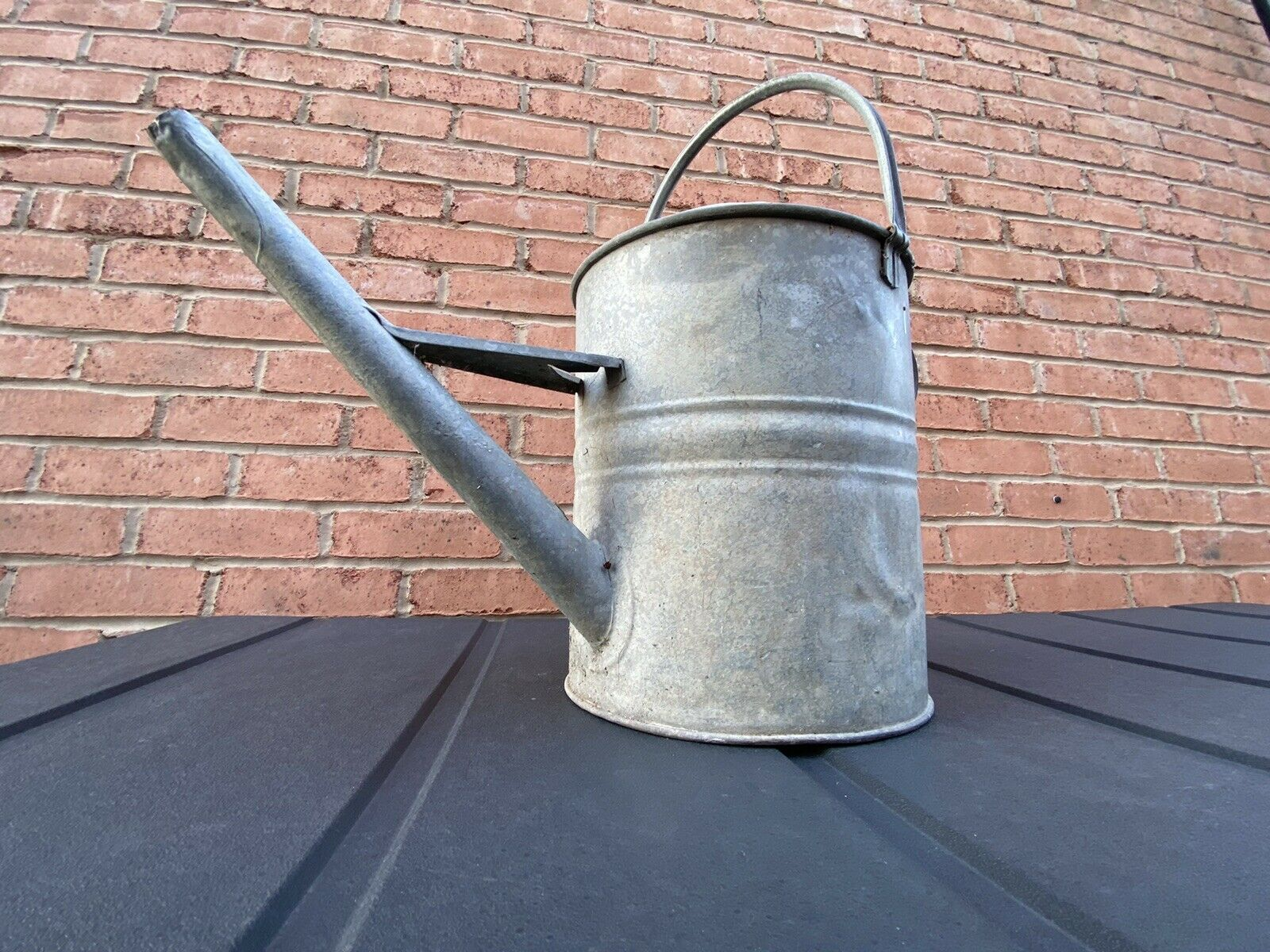 Vintage Galvanised 3 Gallon Watering Can/Water tight