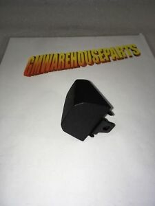 2014 2018 Silverado Rear Door Handle Black Cap Cover New