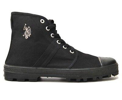 Us Polo Assn. señora caballero canvas Hi sneakers High Top Trainers zapatos   eBay