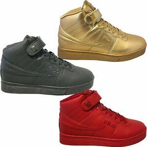 Fila-Mens-Vulc-13-Mid-Plus-MP-Tonal-Fashion-Retro-Casual-Shoes