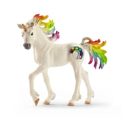 Schleich 70525 Regenbogeneinhorn Pferde Fohlen Fantasy Spielfigur Bayala