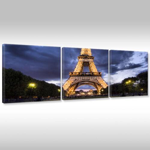 LEINWANDBILDER CANVAS WANDBILD KUNSTDRUCK FRANKREICH PARIS EIFFELTURM FRANCE