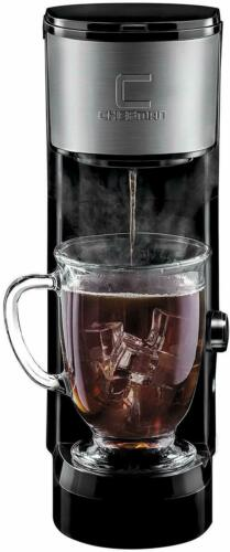 Coffee Maker K-Cup InstaBrew Brewer Personal Cup One Pod Brewer Small Single Cup