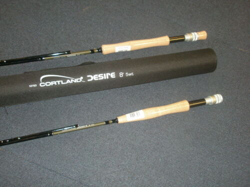 Codura Tube ALL VARIETIES Fly fishing tackle Cortland Desire 4pc Fly Rod