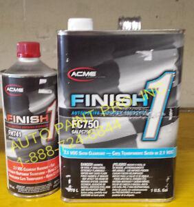 Sherwin Williams Auto Paint >> Details About Finish1 Fc 750 2 1 Voc Satin Finish Clear Coat Acme Sherwin Williams Auto Paint