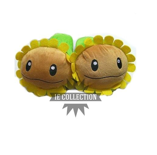 Plants CONTRO zombies slippers SUNFLOWER plants vs zombies 2 slippers slippers