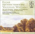 Elgar: Enigma Variations; Serenade for Strings; Vaughan Williams The Lark Ascending; Fantasia on Greensleeves; Fantasia on a Theme (CD, Sep-2001, EMI Music Distribution)