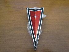1977-81 FIREBIRD TRANS AM FRONT BUMPER ARROWHEAD EMBLEM, RED