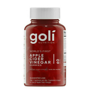 Goli Apple Cider Vinegar Gummies 60 Pieces