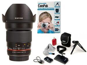 Wide-angle-Samyang-lens-24mm-f-1-4-ED-AS-IF-UMC-AE-for-Nikon-FINAL-SALE-GIFT