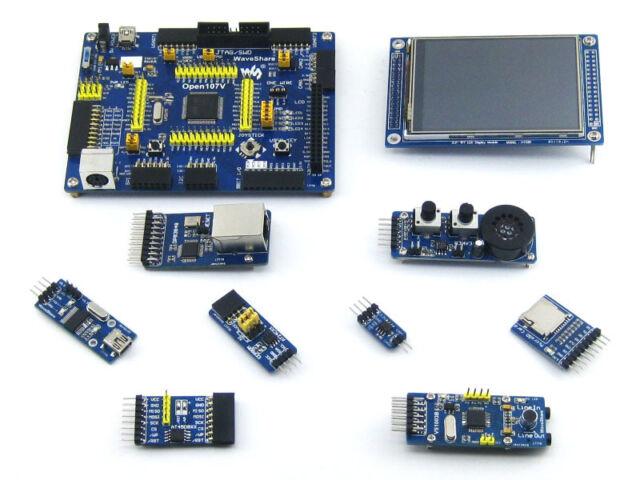 Stm32f107vct6 Stm32f107 Stm32 Development Board Kit TFT LCD Ethernet Modules