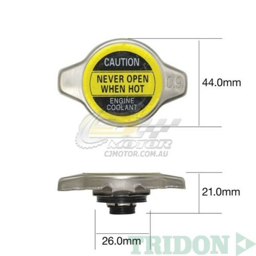 TRIDON RADIATOR CAP FOR Toyota Hilux RZN149RRZN174R 11//97-04//05 4 2.7L 3RZ-FE