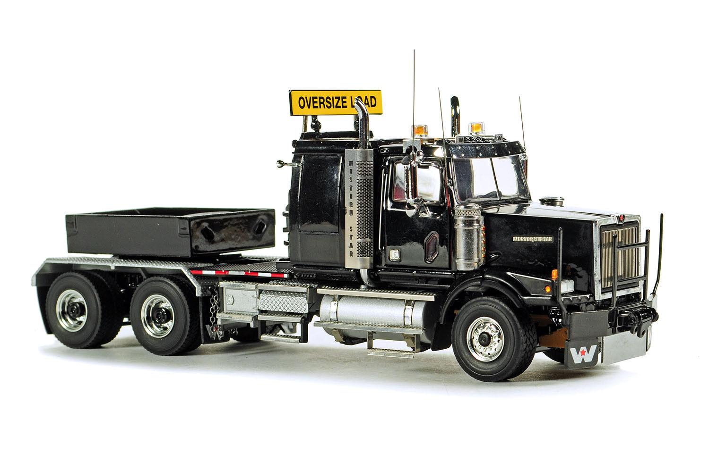 Nuevo WSI 34-2018 Western Star 4964SX-1 pesado tractor con lastre Caja Negro 1/50 MIB