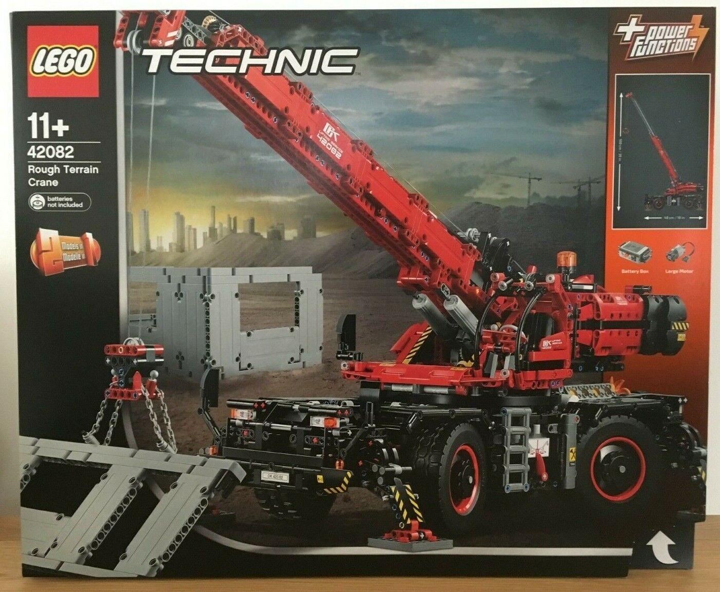 Lego Technic 42082 Rough Terrain Crane Opened Never Oqnisz6129