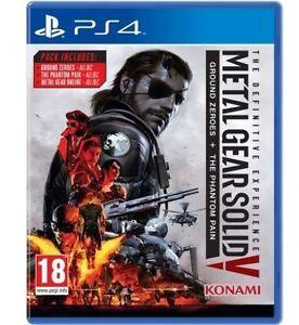 METAL GEAR SOLID V DEFINITIVE EXP. For Playstation 4