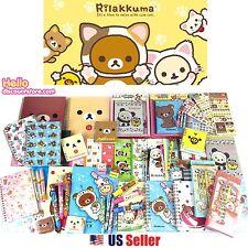 San-x Rilakkuma Assorted School Supply Pen Note Stationary Gift Set
