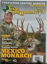Texas Trophy Hunters Nov Dec 2016 Mexico Monarch Deer Contest FREE SHIPPING sb