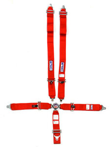 RJS Safety Harness 5 Point Camlock SFI 16.1 Pull Down Adjust Wrap Aro… (1034904)