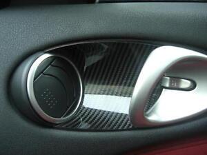 Carbon-Einlagen-Tueroeffner-Door-Opener-Dooropener-Passend-fuer-Nissan-370Z-Z34