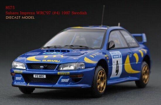HPI Swedish Rally Subaru Impreza RS WRX STI WRC '97 1 43