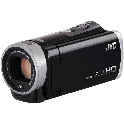 JVC GZ-E300 Everio Full HD Camcorder 1080P 40x Optical Zoom - Black