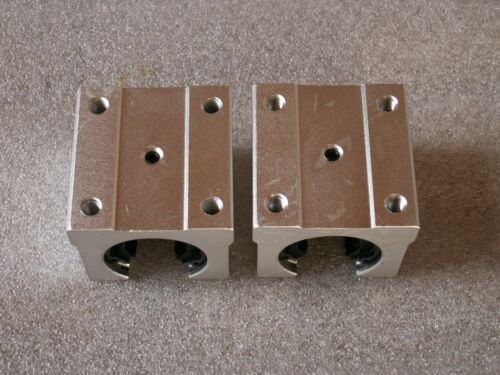 4pcs open pillow block SBR16UU with LM16UU bearing CNC linear slide guide rail