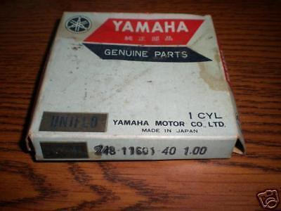 yamaha AT1 piston rings new 248 11601 10