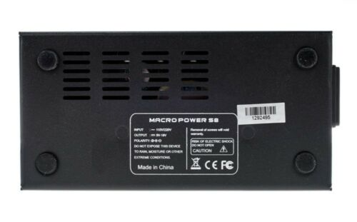 12v 18v 15v 9v Mooer MACRO POWER S8 Multi Output Power Supply with leads