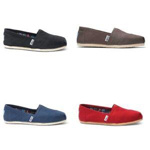 Toms Classic Alpargata Women Hatching shoe | slipper | Canvas - NEW