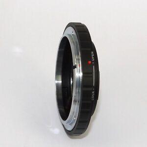 Pentax-K-anello-adattatore-a-obiettivo-Canon-FD-raccordo-adapter-ID-3349