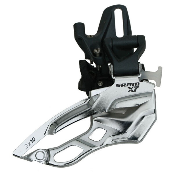 SRAM X7 High H0 Type Direct Mount Front Derailleur 3x10 Dual Pull - Brand New