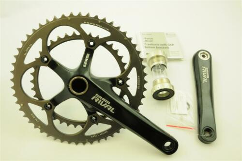 SRAM RIVAL 170mm ROAD CHAINSET DOUBLE 53//39 TEETH 10 SPEED 35/% OFF RRP £199.99
