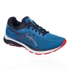 Asics-GT-1000-7-pour-Homme-Chaussures-De-Course-Baskets-Sneakers-Bleu-Sport-Respirant