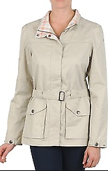 Lafuma Womens Casual Coat Baige Coat Thin Jacket Size Medium *ref26