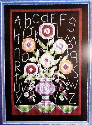 Bobbie G Designs Counted Cross Stitch Kit #MS296 Fall Grapes 6x8 14ct Aida New
