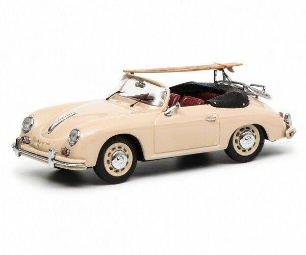 Schuco Porsche 356 A Cabriolet with surfbo 1 43 450256900